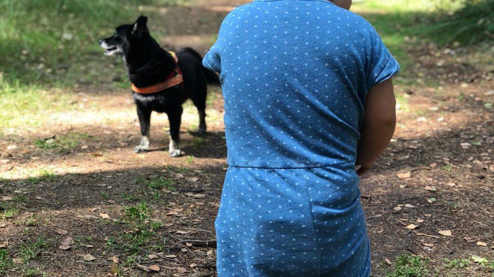 Pies i Dziecko.